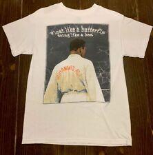 Vintage Muhammad Ali Brand T-Shirt Size Medium Float Like A Butterfly