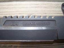 *RARE* Black Oxide Buck Buckmaster 184 Survival Navy Seal Bowie Knife