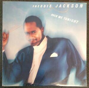 Freddie Jackson Rock Me Tonight 1985 SEALED USA LP