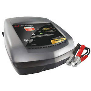 """SCHUMACHER ELECTRIC SC1321 Battery Charger,120VAC,8"""" W"""