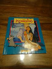 ALBUM DISNEY POCAHONTAS PANINI COMPLET LEGENDE INDIENNE 1995 NESQUIK POSTER