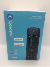 Motorola AXH01 Smart Wireless Expandable Home Telephone w/ Built-in Alexa New OB