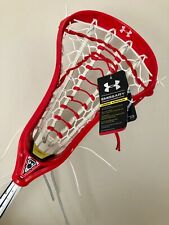 Womens Lacrosse Stick New Under Armour Emissary Head Usa Composite Shaft $279