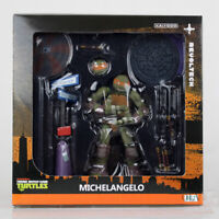 Kaiyodo Revoltech Teenage Mutant Ninja Turtles TMNT Michelangelo Figures Toy