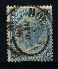 ITALIA - Regno - 1865 - Effigie di Vittorio Emanuele II. Soprastampa. I tipo