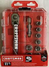 """10 Pc. Craftsman USA 3/8"""" Drive SAE Metric 6 Pt. Socket Set, Missing 10MM"""