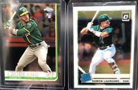 2019 Ramon Laureano Oakland Athletics RC Rookie Lot X2 Topps Chrome Rated Rookie