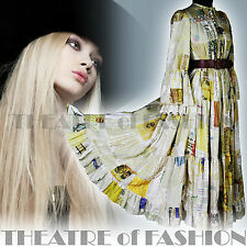 VINTAGE 70 s Dress Lace Indian Catherine Buckley Boho Victorien 60 S Mariage Rare