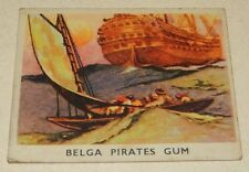 Image CHROMO BELGA PIRATES Gum N°35 : En attendant l'heure de l'attaque TABAGO