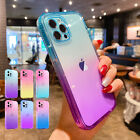 For iPhone 13 Pro Max 13Pro 13 Gradient Case Hybrid Rubber Shockproof Slim Cover