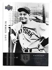 LOU GEHRIG 2004 UPPER DECK RIVALS #8 NEW YORK YANKEES