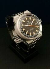 !! MONTRE HOMME OMEGA DYNAMIC RACING VINTAGE WATCH 70'S AUTO 1012 SERVICED !!
