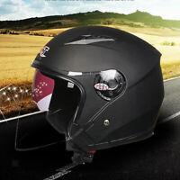 Casco Moto Scooter Doppia Visiera Parasole