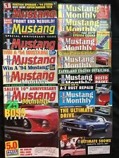 Mustang Monthly 1994 12 Full Months Restoration Painting Body Tips