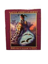 E&L Corp. 500 Piece Puzzle Native American Series Cloak of Vision New Sealed NIB