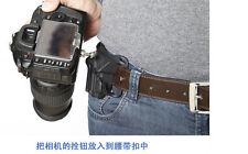 "Camera Quick Strap with Neck Strap 1/4"" Screw  Waist Spider Holster Shoot  Belt"