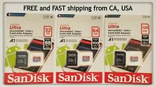 SanDisk Micro SD Card 32GB 64GB 128GB TF Class 10 Android Nintendo Samsung