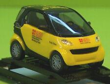 """Smart City Coupe  gelb/schwarz   """" ASB """"        Busch Nr : 48922"""