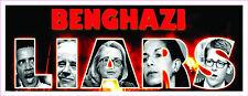 Anti Obama BENGHAZI LIARS LIBYA CONSULATE POLITICAL Bumper Sticker #227