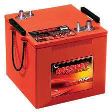 PC2250 12V 126AH 1730CCA Odyssey Batterie de démarrage véhicule, 4x4,SUV Marine