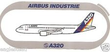 Baggage Label - Airbus - A320 - House V5 - Reversal of Top / Bottom Text (BL479)