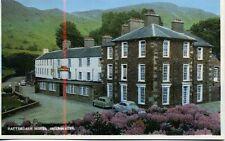 Patterdale Hotel Ullswater 1959 postcard Triumph Vanguard Austin Somerset