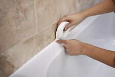 SupaDec Bathroom/Wall/Kitchen/Shower White Sealant Seal Strip L Shape Tape 38mm