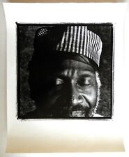 MUSICIAN TAJ MAHAL - FINE ART PHOTOGRAPH BY MARC NORBERG - [BACK & WHITE BLUES]