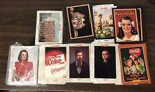 COCA COLA Trading Cards -- HUGE Lot of 1600+ Cards + Pog Sets
