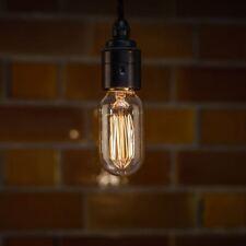 T45 E27 60W Retro Vintage style Tall Edison light Lamp Spiral Filament Bulb