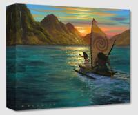 Disney Fine Art Treasures On Canvas Collection Sailing Into the Sun-Moana