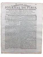 Constantini Député de Corse 1792 Le Puy Le Havre Lozère Mendes Bouches du Rhône