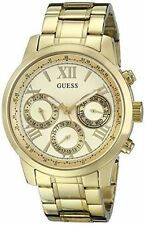 GUESS Stainless Steel Case Women's Adult Wristwatches