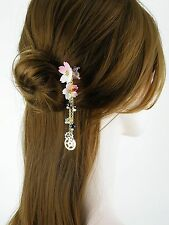 Japanese Kanzashi Stick Cherry Blossoms Hairpin Hair Accessories Kimono #h5