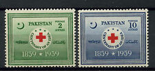 Red Cross Pakistani Stamps (1947-Now)