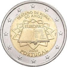 2 euro commemorativa PORTOGALLO 2007 Trattati di Roma FDC