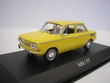 NSU TT 1967 Amarillo 1/43 maxichamps 940015301 NUEVO