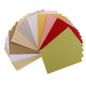 50 Sheets/Pack Scrapbooking Pearlescent Paper Cardstock DIY Handmade Card for