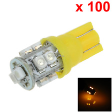 100x Yellow Car T10 W5W Generation Bulb Interior Light 10 3528 SMD LED A026