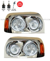 Headlight Chrome with LED Corner Lamp LH RH Fit:  Freightliner Century 2004-2015