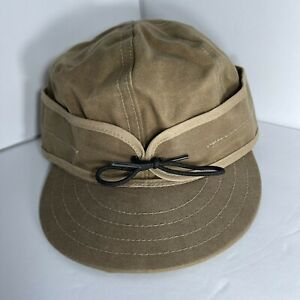 Stormy Kromer Waxed Canvas 7 1/2. 7.5 Made In USA Stormy Kromer Cap
