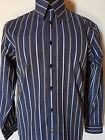 MENS SHIRT BEN SHERMAN LONG SLEEVED BUTTON UP SIZE LARGE