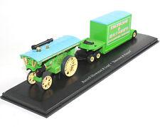 1:76 Burrell Showman & Load Emerson & Hazard Diecast Model Steam locomotive Mint