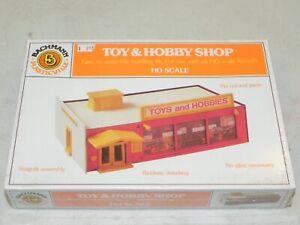 Bachmann HO Plasticville Toy & Hobby Shop Building Kit NIB Factory Sealed