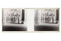 Gotico Dettaglio Francia Foto Amateur Stereo L15n16 Placca Da Lente Negativo