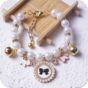 Princess Pearl Pet Necklace Accessories For Puppies Dogs Cats Small Animals