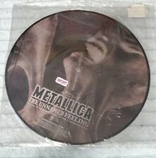 """METALLICA - UNNAMED FEELING - IMPORT FROM ENGLAND - 12"""" PICTURE VINYL RECORD NEW"""