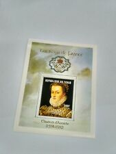 Chad  2001 famous people / king of France 2232-2235