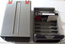 Lot de 2 boites casiers cassettes vhs