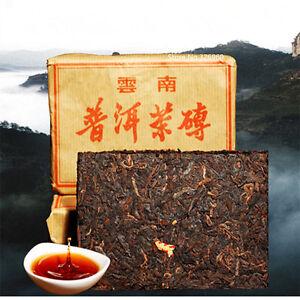 100g Pu Erh Tea Brick Chinese Ripe Black Tea Ancient Tree Puer Tea Healthy Drink